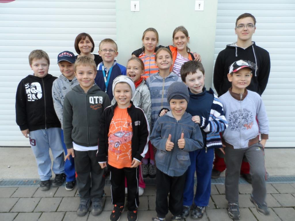 Oddíl mladých hasičů Rakvice (26.09.2013)